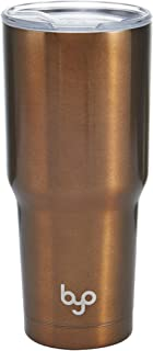 BYO 5227241 Double Wall Stainless Steel Vacuum Insulated Tumbler, 30-Ounce, Bronze