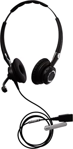 Jabra 2400 II QD Duo NC Wideband Wired Headset - Black