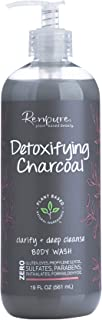 Renpure Plant-Based Beauty Detoxifying Charcoal Clarifying +body wash, 19 Ounce