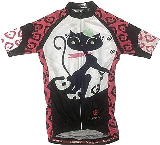LONG AO Children Cycling Jersey Short Sleeve
