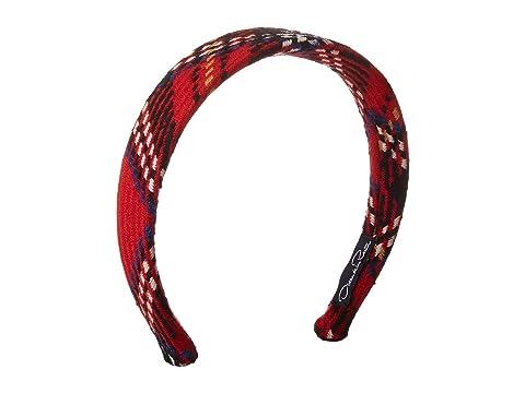Oscar de la Renta Childrenswear Cotton Velvet Headband (Little Kid/Big Kid)