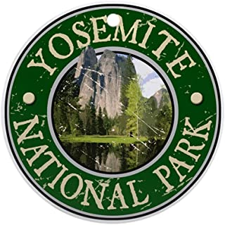 CafePress Yosemite NAT Park Design 2 Ornament (Round) Round Holiday Christmas Ornament
