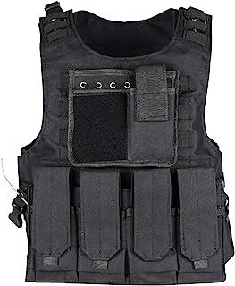 ThreeH Tactisch vesten militair opleiding, jacht, gaming-vest, paintball uitrusting voor volwassenen, legerfans