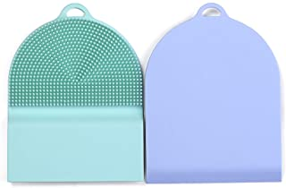 TEYNE Silicon Sponge and Scrubber, The Hygienic Sponge for Your Home - Odor and Stain Resistant - Easy to Use, BPA Free, R...