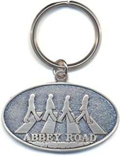 The Beatles Keyring Keychain Abbey Road Crossing Official One Size