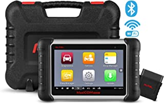 Autel MaxiCOM MK808BT Diagnostic Scan Tool Automotive Scanner with All Systems Diagnosis, 21 Special Functions, IMMO Keys, ABS Brake Bleed, Oil Reset, EPB, SAS, BMS, DPF, TPMS, Upgraded Ver. of MK808