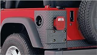 Bushwacker 14004 Jeep Trail Armor Rear Corner Pair for Flat Style & Factory Flares