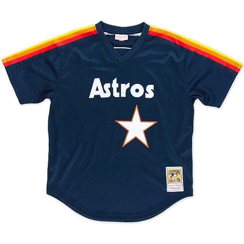 Mitchell   Ness 562141188NRYAN Men Houston Astros Nolan Ryan Nostalgia Navy   34 6bdc86a2d