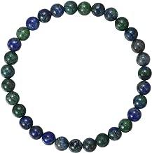 BRCbeads Gemstone Bracelets Natural Gemstone Birthstone Handmade Healing Power Crystal Beads Elastic Stretch 7.5 Inch Gift Box Unisex