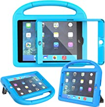 AVAWO Kids Case for iPad Mini 1 2 3 - Built-in Screen Protector Light Weight Shock Proof Handle Stand Kids Cover for iPad Mini 1st Gen, iPad Mini 2nd Gen, iPad Mini 3rd Generation - Blue