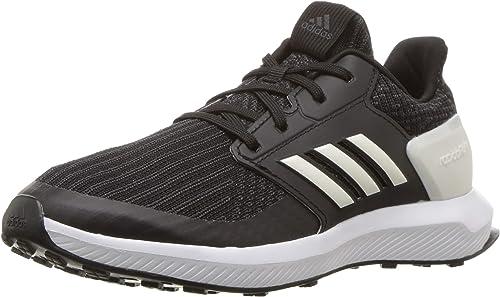 Adidas Unisex RapidaRun Running chaussures, noir Cloud blanc Carbon, 2.5 M US Little Kid