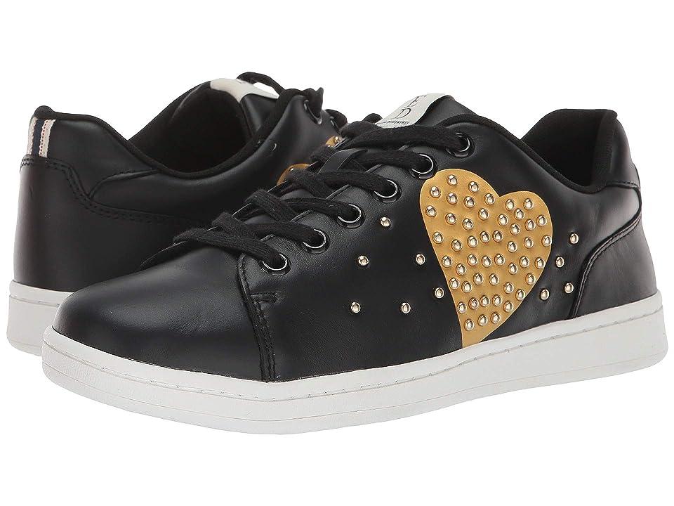 ED Ellen DeGeneres Chamour Sneaker (Black/Gold) Women