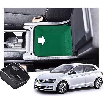 Car Organizzatore Contenitore Accessori Interni per Polo MK6 2018 2019 2020 Central Armrest Console Storage Box N//A Auto Bracciolo Centrale Scatola Immagazzinaggio Contenitore