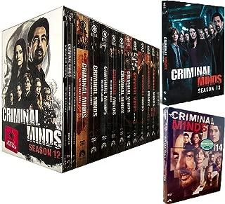Criminal Minds Complete Series Seasons 1-14 DVD 78-Discs Set