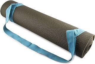 FIT SPIRIT Adjustable Cotton Yoga Mat Carrying Strap