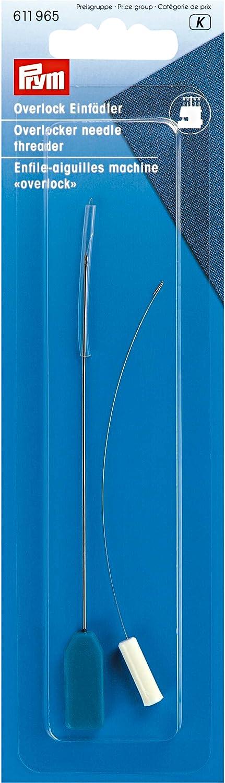 Prym Enhebrador para máquinas Overlock, Plateado, 16.4 x 5 x 0.4 cm