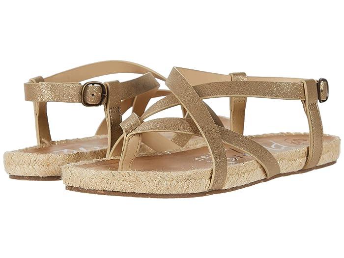 Blowfish  Granola Rope (Gold Cosmic Metallic) Womens Sandals