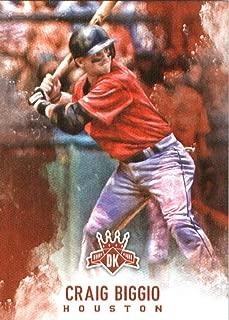 2017 Panini Diamond Kings #97 Craig Biggio Houston Astros Baseball Card