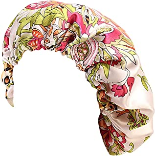 قبعة نوم Antjoint Chemo Cancer Sleep Cap Hat Satin عمامة أغطية الرأس قبعة الرأس بونيه غطاء الشعر الحجاب