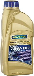 RAVENOL MTF de 2SAE 75W de 80API descofidicadores/GL5vollsynthetisches getriebeöl, 1L