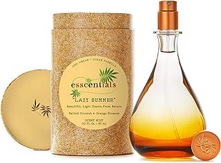 ESSCENTIALS Lazy Summer Fragrance Mist | Light, Buildable, Spray Fragrance Featuring Subtle Notes Of Salted Coconut & Orange Blossom, 2.0 oz / 60mL