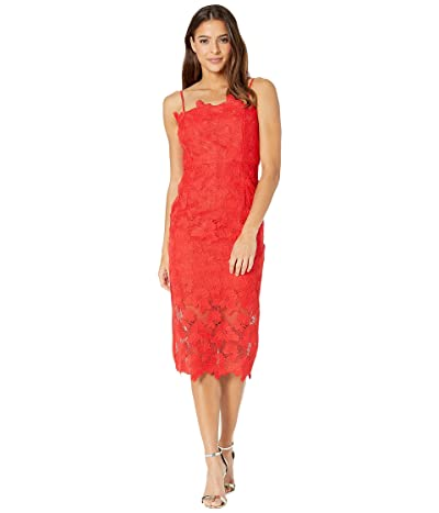 Bardot Sunshine Dress (Fire Red) Women