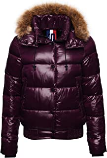 Superdry High Shine Toya Bomber chaqueta para Mujer