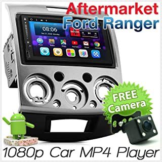 TUNEZ® 7 Inches Din Android Car Stereo for Ford Ranger (PJ, PK) and Mazda BT-50 (UN), Year 2006-2011 Stereo Head Unit Supp...