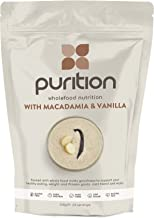 Purition Macadamia Vanilla Natural Protein Powder for Keto Diet Shakes and Meal Replacements Shakes with Only Natural Ingredients 1 Bag 12 Servings Estimated Price : £ 18,75