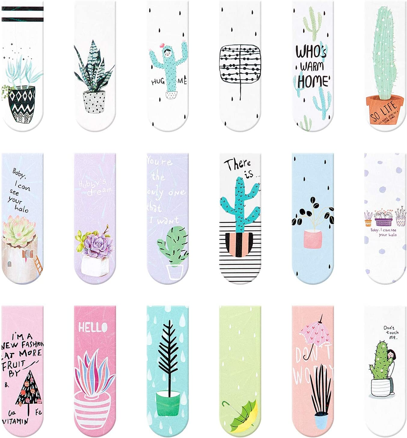 18 OFFicial site Pieces Magnet Magnetic Bookmarks Page Pag Cute Las Vegas Mall Markers