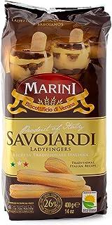 Marini Savoiardi Italian Ladyfingers Cookies 400 Grams - Biscottificio di Verona Italiani - Product of Italy