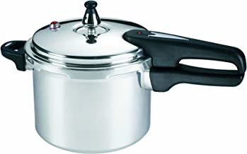 Mirro 92140A Polished Aluminum 10-PSI Pressure Cooker Cookware, 4-Quart, Silver – 7114000229