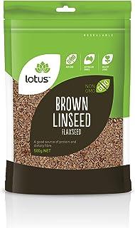 Lotus Brown Linseed Flaxseed 500 g, 500 g