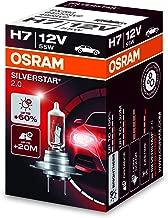 OSRAM SILVERSTAR 2.0 H7, halogen-headlamp bulb, 64210SV2, 12V, folding carton box (1 piece)