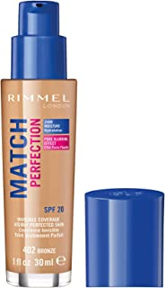 Rimmel London, Match Perfection Foundation, Bronze, 30 ml