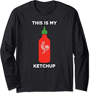 This Is My Ketchup Long Sleeve T-shirt