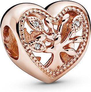 Pandora Femme Argent doré Forme différente Oxyde de Zirconium Charme - 788826C01