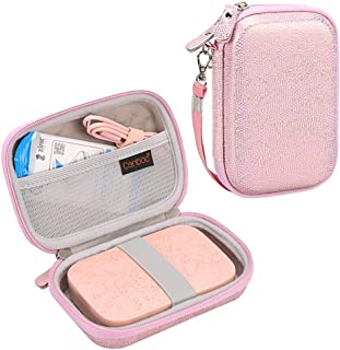 Canboc Shockproof Carrying Case Storage Travel Bag for HP Sprocket Portable Photo Printer/Polaroid Zip Mobile Printer Prot...