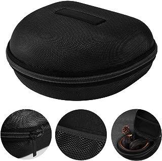 EVA Carrying Hard Case Cover Headphone Headset Case Pouch Travel Bag for Marshall Major I/Major Ii BT On-Ear Headset - Black