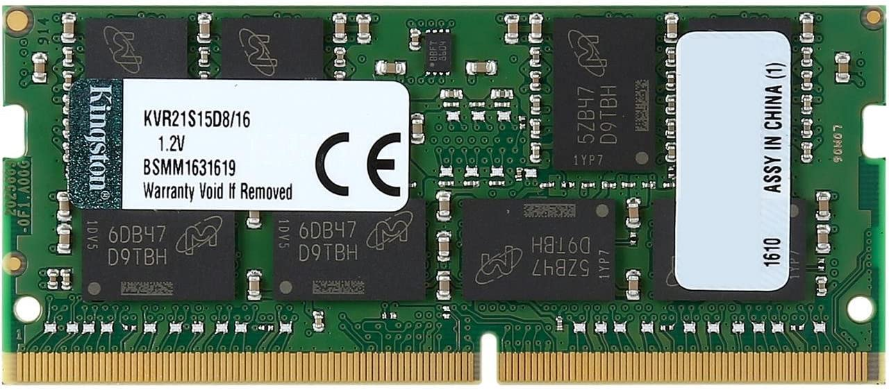 Kingston ValueRAM 16GB 2133MHz Translated DDR4 Lap 2Rx8 Non-ECC CL15 Arlington Mall SODIMM