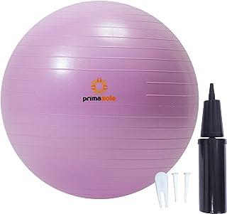 【Amazon限定ブランド】プリマソーレ(primasole) フィットネスボール 空気入れ付き バランスボール フィットネス