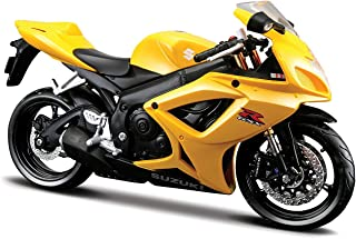 Maisto 1/12 Suzuki GSX R-600 '06 バイク/マイスト/SportsBike/スポーツバイク/オンロード/1:12/黄/イエロ.