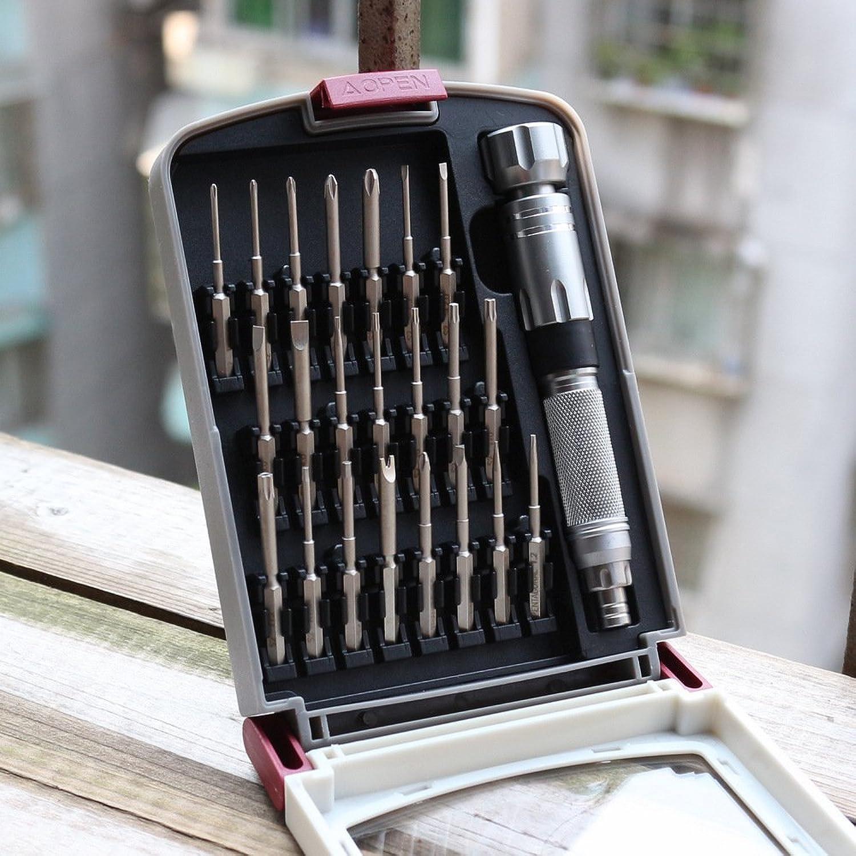 STSERI Präzisions-Schraubendreher-Set, mit 22 Alloy-Bohrer-Magnetschraubendreher-Kit für Reparatursätze für Laptops, Smartphones, iPhones, Schmuck und andere elektronische Geräte B07MSKXYVJ | ein guter Ruf in der Welt