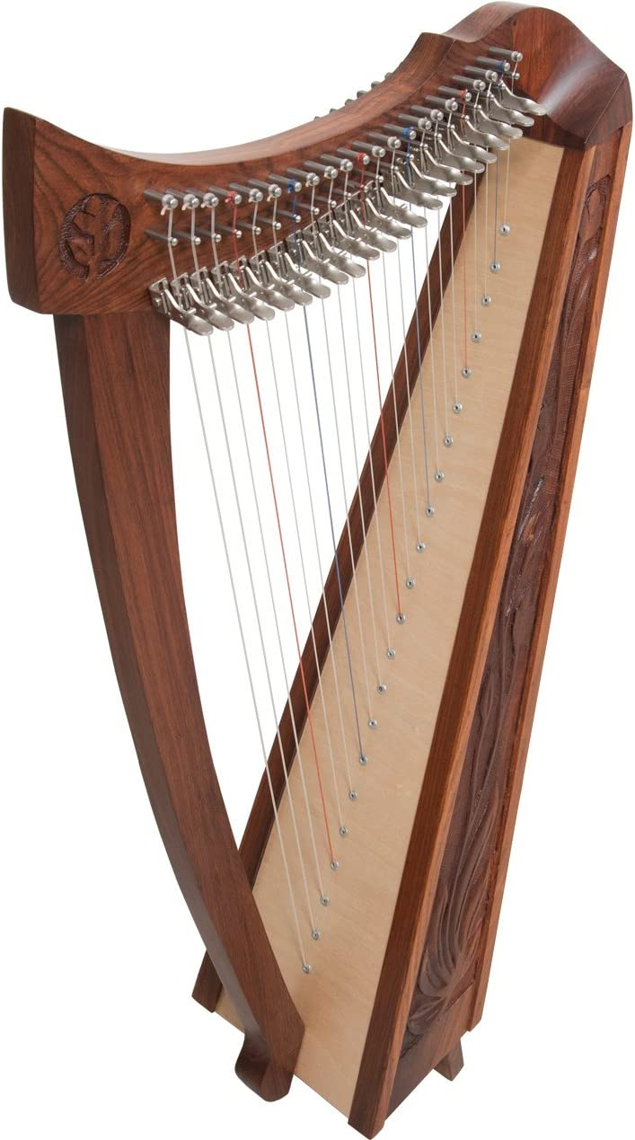 /C Roosebeck Harp 12-String Set F/