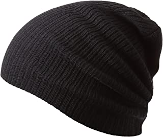 Winter Hats Knitted Slouchy Warm Beanie Caps Unisex Classic Solid Color Hat