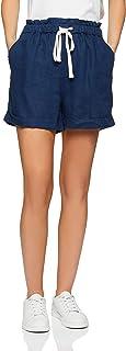 Jag Women's Lauren Linen Short, Vintage Blue