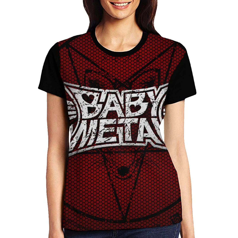 ベビーメタル Baby-metal レディース ファッション トップス 半袖 Tシャツ 夏 春 ゆったり シンプル