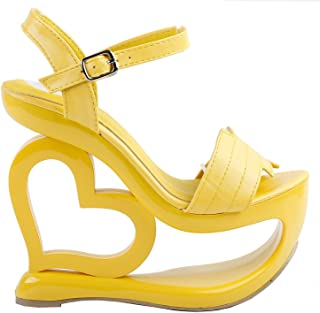 Best yellow wedge shoes for wedding Reviews