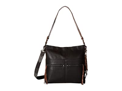 The Sak Ashland Bucket (Black) Handbags