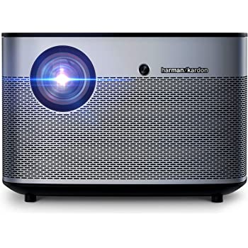 XGIMI H2 4K 1080p HD Smart Projector WiFi Bluetooth Harman/Kardon Speakers, Home Video Theater System , 1350 ANSI lm, 30,000 Hours LED Lamp Life, 300 Inch Image TV Projector, Works with Netflix